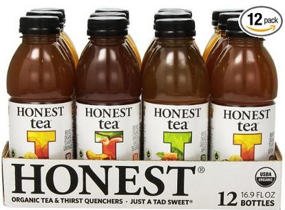 Extra 40% off Honest Tea Products @ Amazon.com