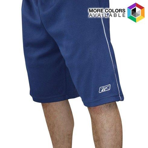 2-Pack: Reebok Men's Mesh Basketball Shorts