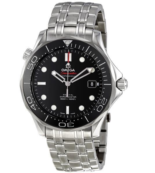 $2895 Omega Seamaster Black Dial Automatic Steel Men's Watch, 212.30.41.20.01.003