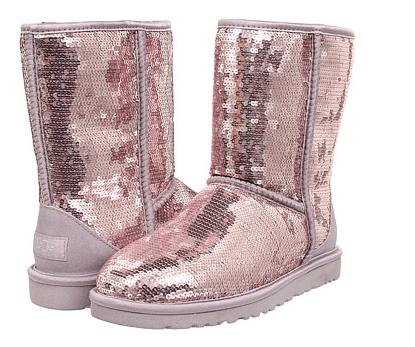 $85.5 UGG Classic Short Sparkles