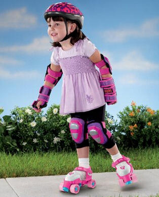 Fisher-Price Barbie Grow to Pro 1-2-3 Roller-skates