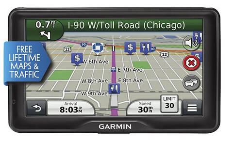 "$299.99 Garmin - dezl 760LMT 7"" GPS with Built-In Bluetooth"