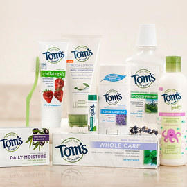 Up To 35% Off Tom's of Maine Sale @ Zulily