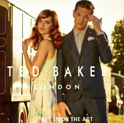 20% Off Select Women's and Men's Items @ Ted Baker