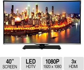 "$199.99 40"" Changhong 1080p 60 Hz LED HDTV (LED40YD1100UA)"
