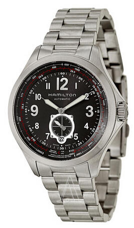 Hamilton Khaki Aviation QNE Men's Watch H76655133 (Dealmoon Exclusive)