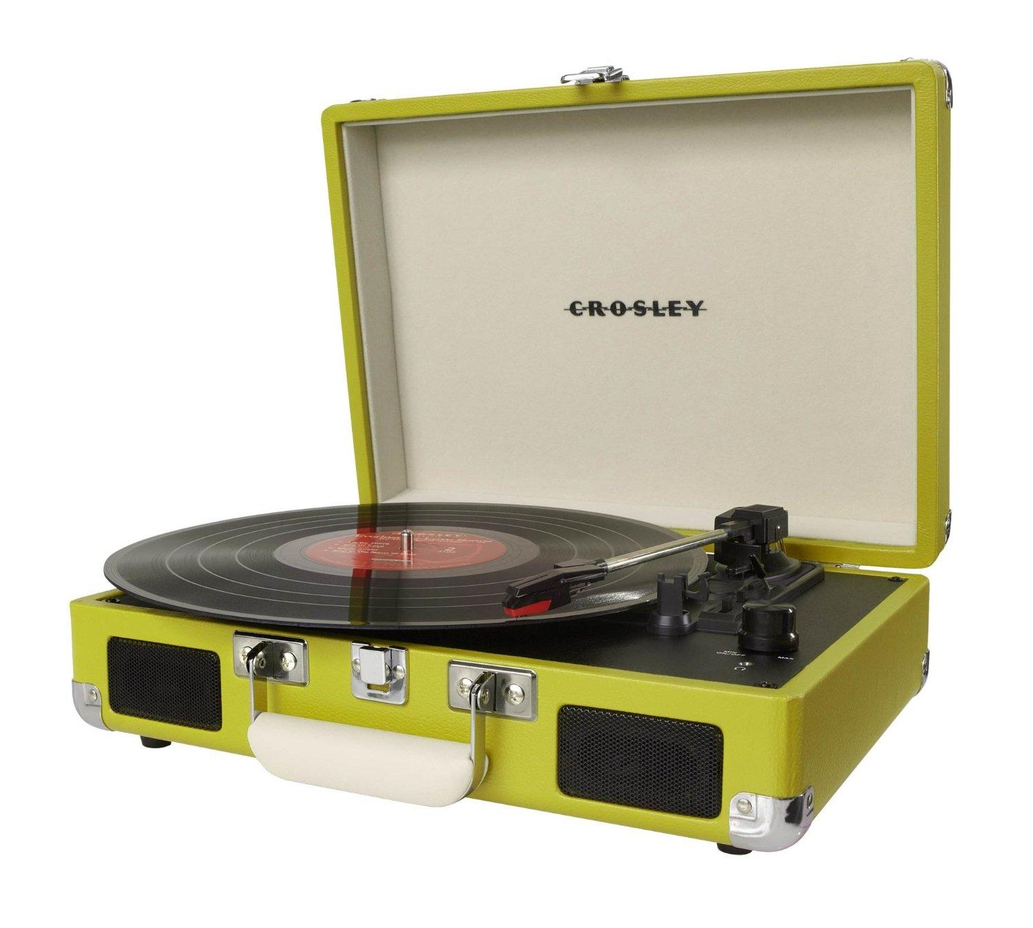 Crosley CR8005A-GR Cruiser Portable Turntable