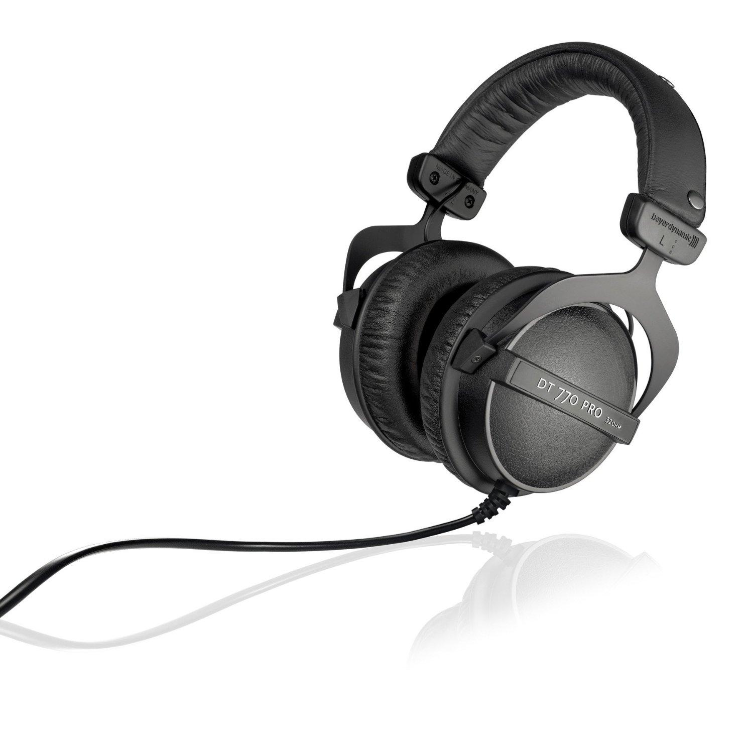 Beyerdynamic DT 770 Pro 32 Ohm Closed Studio Reference Headphone