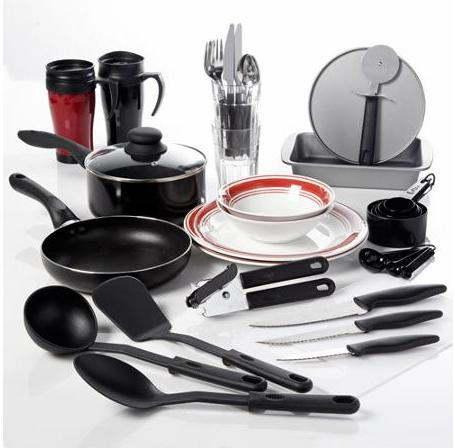 From $20.63 Gibson Home Complete Kitchen 38-Piece Combo Set