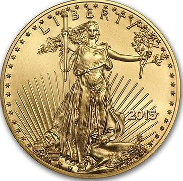 1oz Gold American Eagle Coin