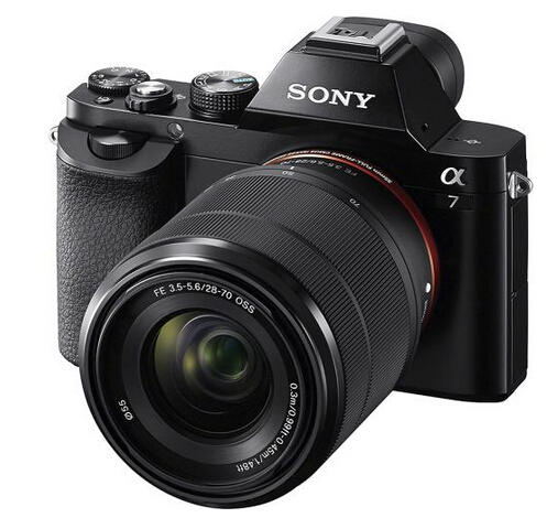 $1299.99 Sony Alpha a7 Mirrorless Camera with 28-70mm Lens