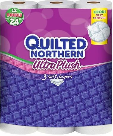 $25.98 4*12 Count Quilted Northern® Ultra Plush Unscented Bathroom Tissue + $10 Target Gift Card