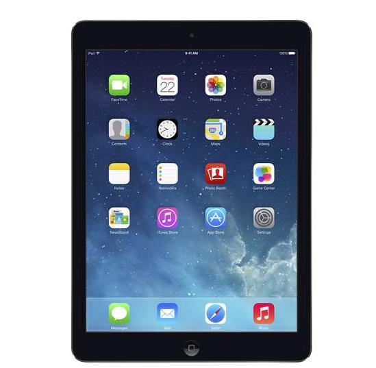 $379.99 Apple iPad Air with Wi-Fi + Cellular - 16GB - (T-Mobile) - Space Gray