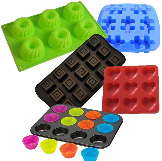Assorted Cake Molds 5-Pack