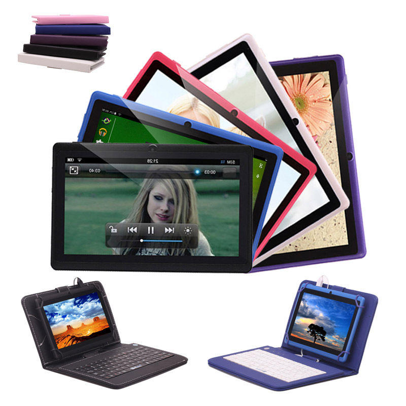 "$12.43 IRULU Tablet PC eXpro X1a 7"" Android 4.4 Quad Core 8GB Dual Camera With Keyboard"