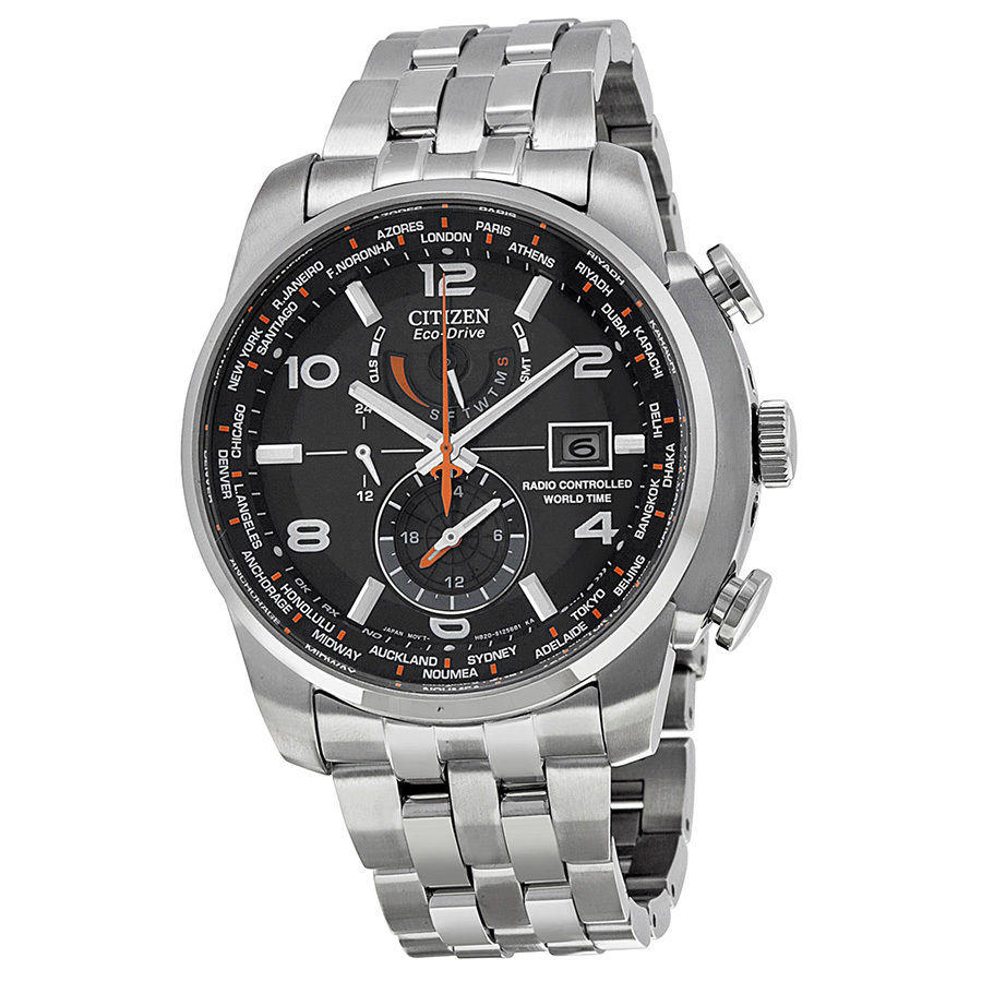 $249.99 Citizen Eco Drive Stainless Steel Mens Watch AT9010-52E