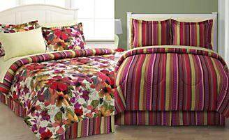 25% Off   8 Piece Reversible Bedding Ensembles, 8 Styles in any size @ macys.com