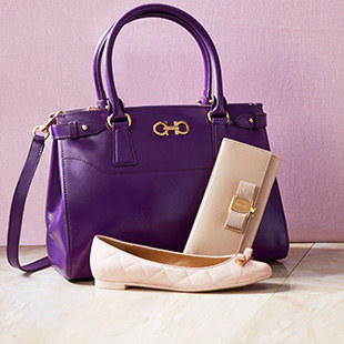 Up to 50% OffSalvatore Ferragamo Handbags & Shoes on Sale @ ideel