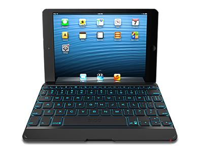 ZAGG Backlit Cover Keyboard iPad Mini - Black