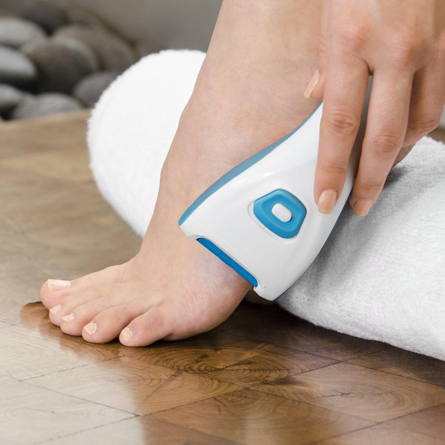 #1 Best seller! $12.99 PurePedi Electronic Callus Remover - Premium Cordless Sole Buffing System