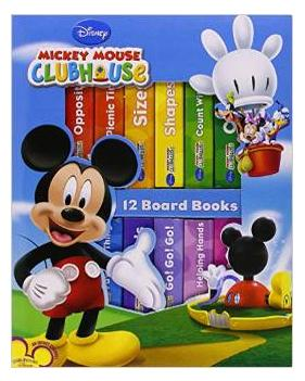 $8.98 My First Library: Mickey Mouse Clubhouse