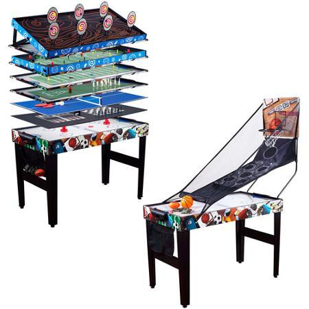 "$29 Medal Sports 48"" 12-in-1 Multi-Game Table 1454819"