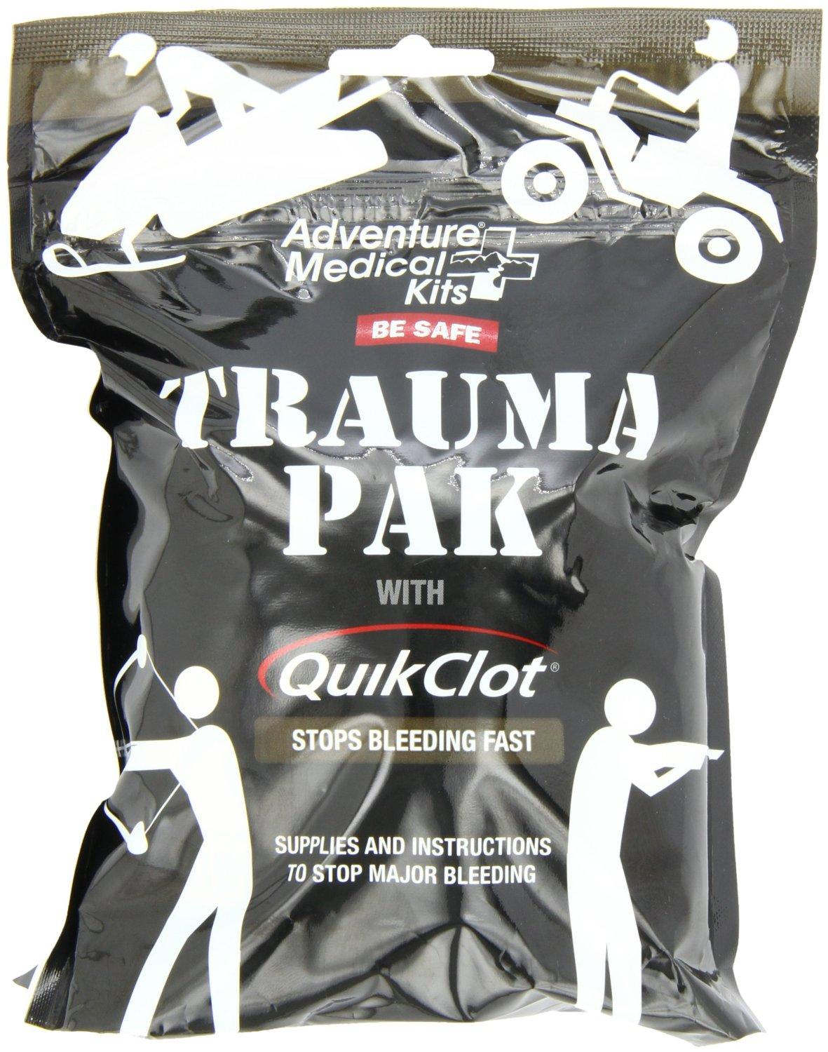 $14.01 Adventure Medical Kits Trauma Pack with QuikClot