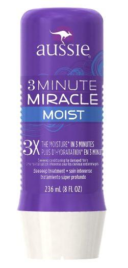 Aussie 3 Minute Miracle Moist Deep Conditioner, 8 oz