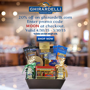 20% Off Sitewide@ Ghiradelli, DEALMOON EXCLUSIVE!