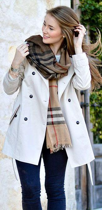 Up to $175 Off with Purchase of Burberry Scarves @ Saks Fifth Avenue