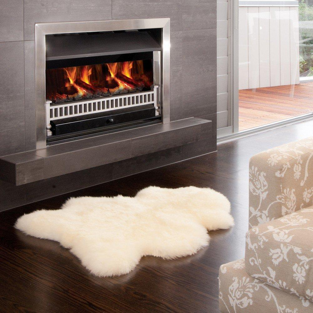 $59.95 WaySoft Genuine Sheepskin Rug ...