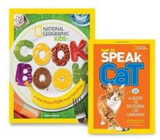 From $5National Geographic Kids' Books @ MYHABIT