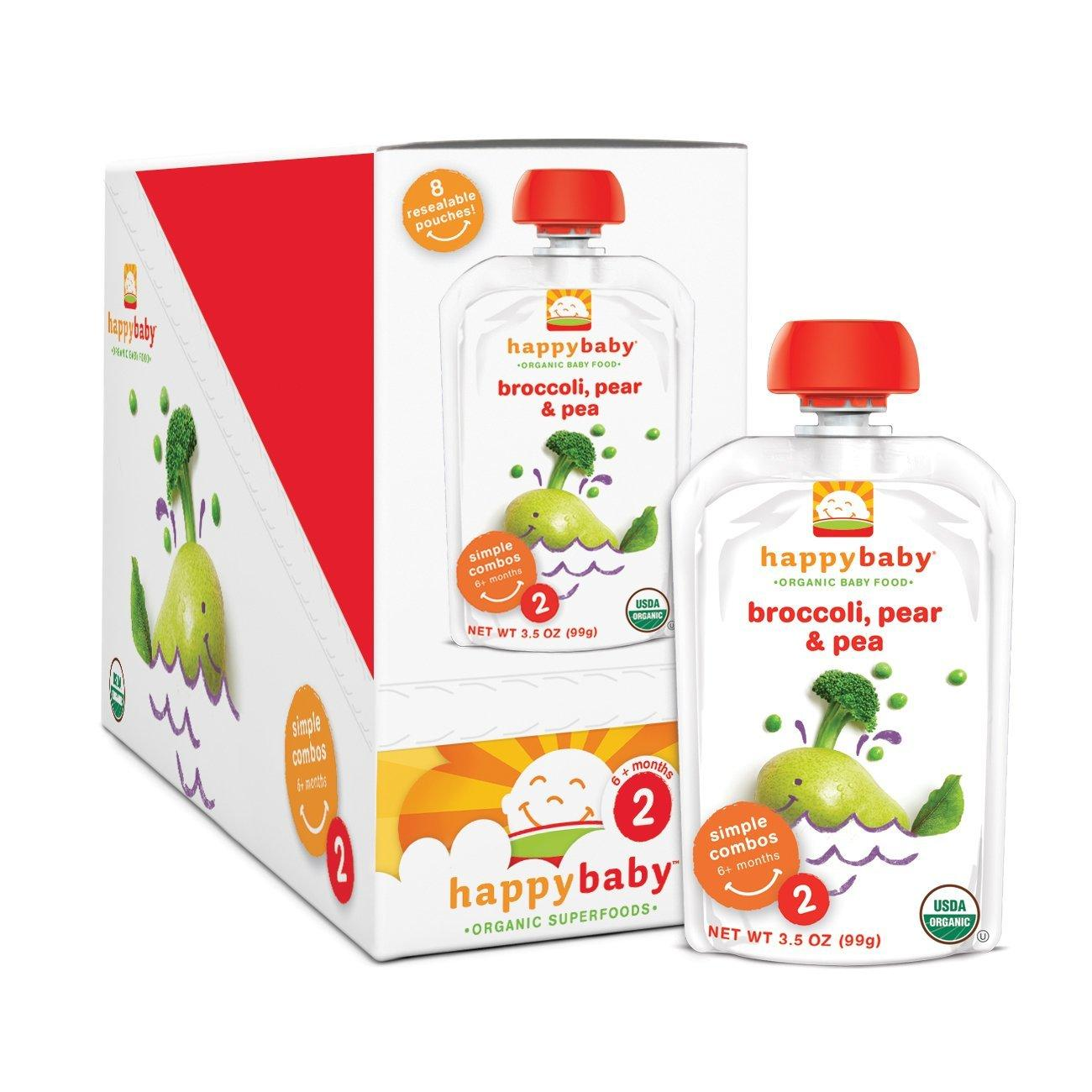 20% Off + Extra 5% Off + Free Shipping Happy Baby Organic Baby Food @ Amazon