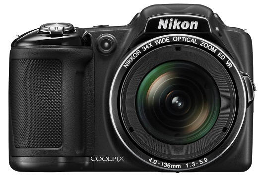 $119 Nikon Coolpix L830 16.0-Megapixel Digital Camera - Black(Certified Refurbished)