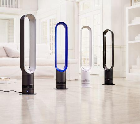 Dyson AM07 Air Multiplier Mini Tower Bladeless Fan with Timer & Remote