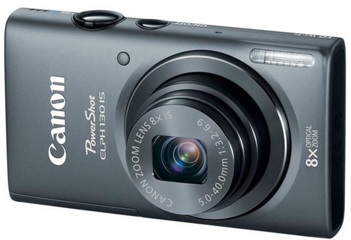 $44.99 Canon PowerShot ELPH 130 IS Red Refurbished