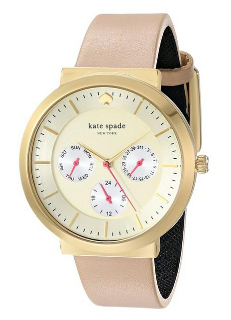 kate spade new york Women's Gold-Tone Stainless Steel Watch