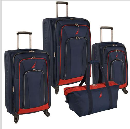 Nautica Timoneer 4 Piece Spinner Luggage Set