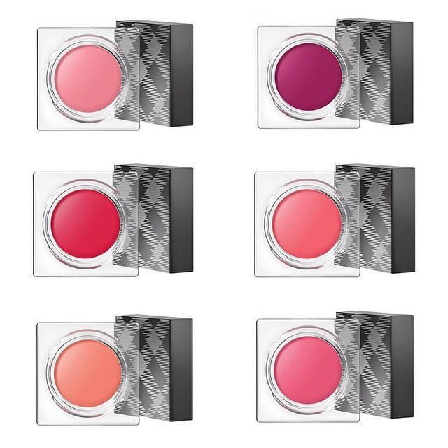 Burberry Beauty launched New Lip & Cheek Bloom