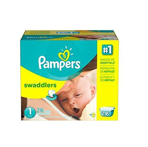 $3 Off + 5% Off + Free Shipping Pampers Swaddlers Diapers @ Amazon