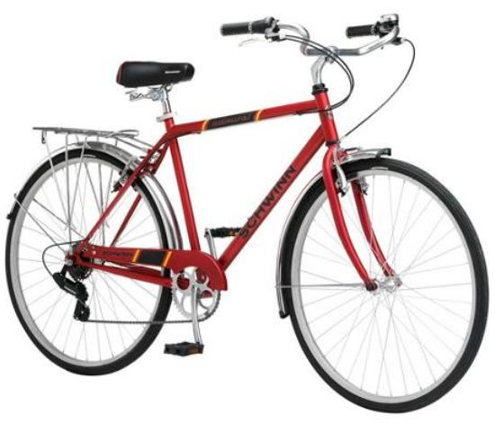 Schwinn Admiral Hybrid 700c Men's Leisure Bike