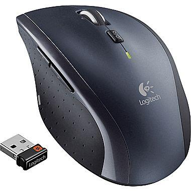 $21.99 Logitech - Marathon Mouse M705 Wireless Laser Mouse - Black
