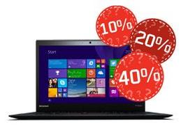 Up to 40% Off  Mystery Coupons from Lenovo