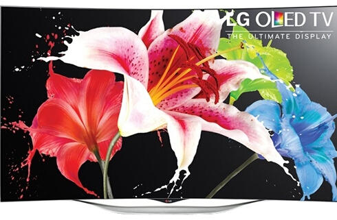 $1999.99 LG 55 Inch OLED Smart TV 55EC9300 3D Curved HDTV