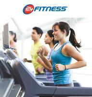 50% off initial fee + one month free trial @ 24 Hour Fitness