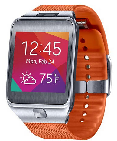 $249.99 Samsung Gear 2 Smartwatch with Heart Rate Monitor