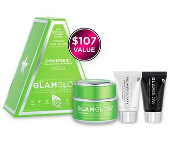DEALMOON EXCLUSIVE!  $69 ($107 value)Full size POWERMUD, plus 10g SUPERMUD + 15g YOUTHMUD @ Glamglowmud
