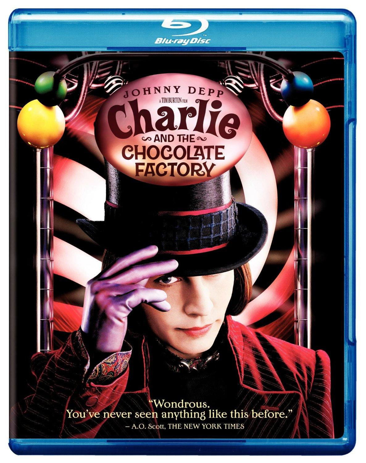 $5 Charlie and the Chocolate Factory [Blu-ray]