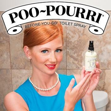 $11.99 Poo-Pourri Before-You-Go Toilet Spray 4-Ounce Bottle, Original