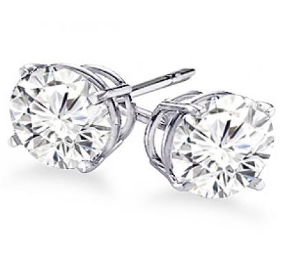 20% OffCertified Diamond Stud Earrings